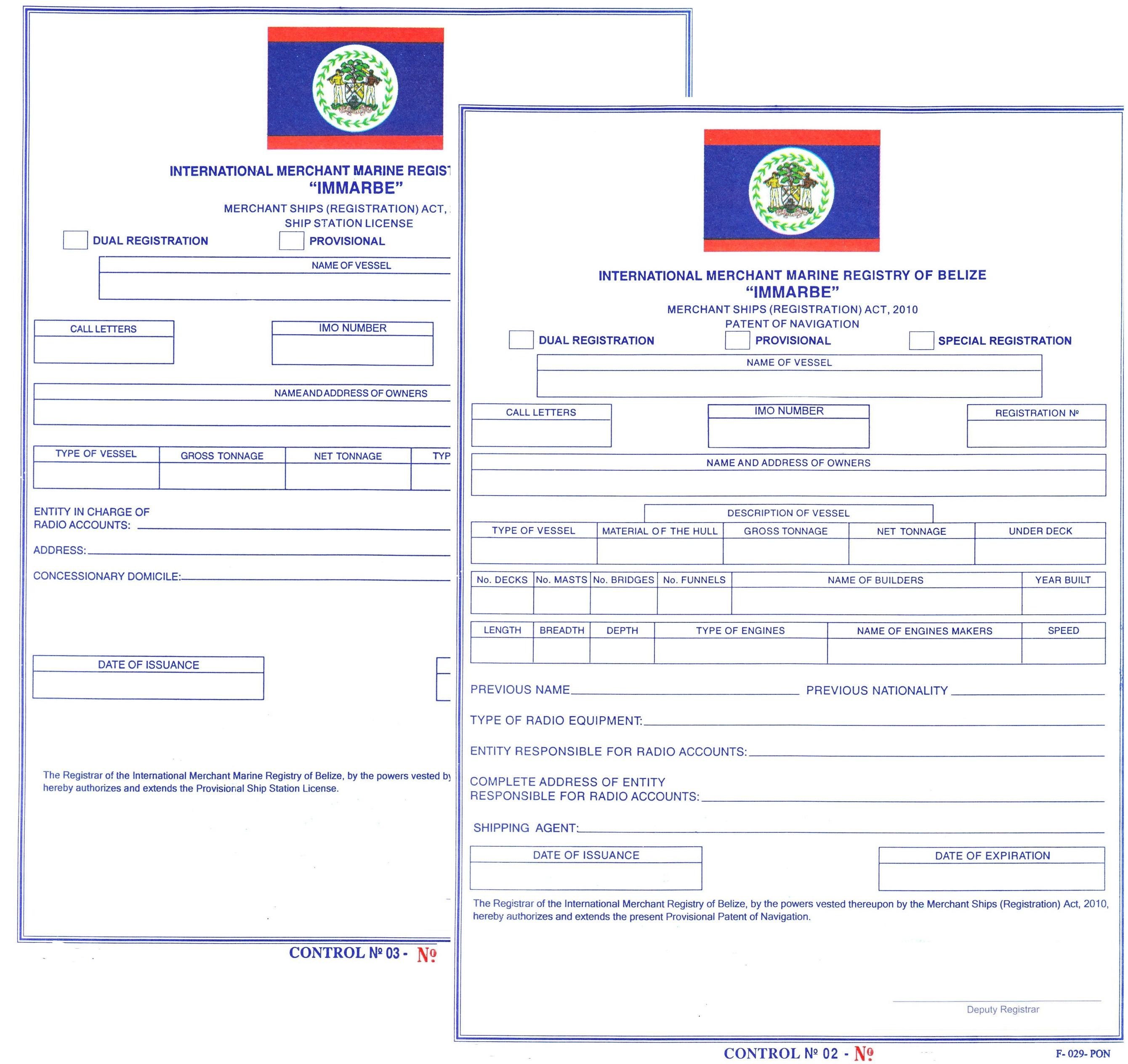 Ordinary ship registration under belize flag flagadmin ordinary ship registration under belize flag xflitez Images
